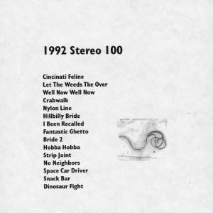 Stereo 100 Pete LaBonne 1992