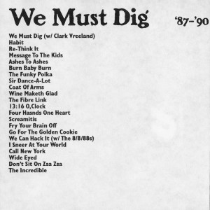 We Must Dig